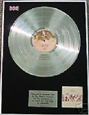 GENESIS -  LP  Platinum Disc   -  A TRICK OF THE TAIL